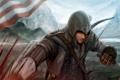 Картинка Кенуэй, Кредо Убийцы 3, Assassin's Creed III, Коннор, ассасин