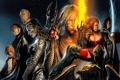 Картинка воины, ведьмы, witchblade
