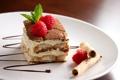 Картинка малина, еда, торт, пирожное, cake, крем, десерт