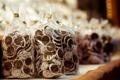 Картинка еда, печенье, сладости, выпечка, глазурь, пакетики