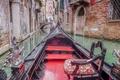 Картинка кресло, дома, Венеция, Италия, канал, лодка, гондола