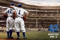 Картинка бейсбол, стадион, Чэдвик боузман, джеки робинсон, chadwick boseman, lucas black, лукас блэк