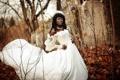 Картинка девушка, природа, невеста