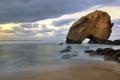 Картинка пляж, природа, скала, камни, океан, Португалия