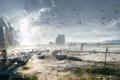 Картинка город, арт, концепт, пустош, Battlefield 4
