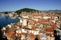 Картинка Split, город, Хорватия, дома, фото