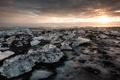 Картинка море, пейзаж, лёд