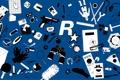 Картинка синий, цвет, Rockstar North, блеять