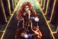 Картинка колонны, audreydutroux, девушка, арт, магия, колдунья