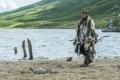 Картинка Rollo, Clive Standen, берег, Викинги, Vikings, мех