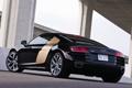 Картинка Audi, Авто, Мост, Машины, Задок, Наклон