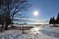 Картинка снег, пейзаж, природа, winter, snow, sun, зимний день
