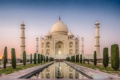 Картинка замок, Индия, храм, Taj Mahal, Тадж Махал, India