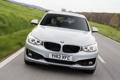 Картинка машина, BMW, в движении, передок, Gran Turismo, Sport Line, 318d
