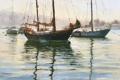 Картинка вода, пейзаж, корабли, яхты, мачты, снасти, Jim Wodark