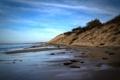 Картинка море, природа, фото, берег, склон