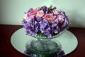 Картинка цветы, розы, ваза, герберы, гортензии, гвоздики