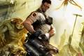 Картинка оружие, главный герой, враги, серьезный сэм 3, serious sam 3