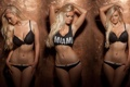 Картинка девушка, трусики, майка, блондинка, нижнее бельё, miami