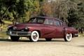Картинка фон, классика, передок, 1948, Sedan, Tucker