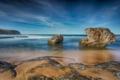 Картинка пляж, природа, камни, океан, берег