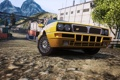 Картинка город, фары, автомобиль, ракурс, need for speed most wanted 2, Lancia delta integrale