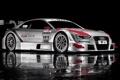 Картинка отражение, Audi, ауди, спорт, болид, sportcar, DTM