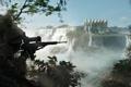 Картинка снайпер, лес, ghosts, in the triple frontier, солдаты, водопад, снайперка