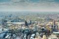 Картинка англия, дома, лондон, колесо, панорама, london, улицы