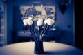 Картинка цветы, фон, ваза