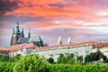 Картинка город, небо, дома, фото, Чехия, Прага