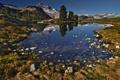 Картинка небо, озеро, SecretLair