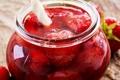 Картинка варенье, клубника, jam, berries, strawberries, ягоды, Bank