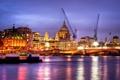 Картинка ночь, Англия, Лондон, night, London, England, thames
