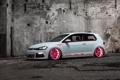 Картинка Volkswagen, Light, tuning, Tron, Golf, MkVII, Low Car