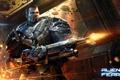 Картинка боец, Alien Fear, броня, солдат, City Interactive, оружие