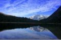 Картинка отражение, гора, Karwendel, Mittenwald