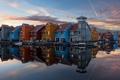 Картинка netherlands, groningen, Floating Village