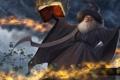 Картинка шляпа, арт, маг, книга, заклинание, волшебник, heroes of newerth