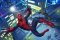 Картинка костюм, супергерой, The Amazing Spider-Man, Новый Человек-паук, Lizard