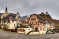 Картинка город, улица, дома, Германия, дорога небо, Байльштайн
