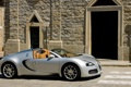 Картинка город, здание, кирпич, Bugatti, veyron