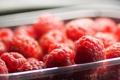 Картинка малина, еда, ягода, красная