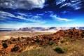 Картинка пейзаж, природа, пустыня, красота, Аризона
