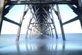 Картинка море, мост, опоры