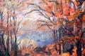 Картинка пейзаж, живопись, картина