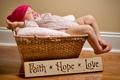 Картинка дети, фото, настроение, спит, корзинка, младенец