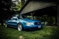 Картинка Audi, ауди, синяя, blue, stance