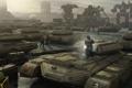 Картинка роботы, солдаты, арт, ремонт, Mechwarrior Online, танки