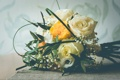 Картинка розы, букет, свадебный букет